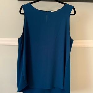 Blue Loft Blouse